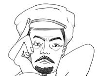 Portrait of Vladymir Lenin