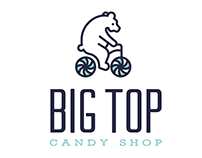 Big Top Candy Shop Logos