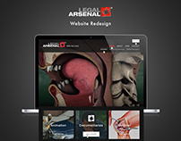 Legal Arsenal Website Redesign
