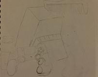 Midterm Still Life - Sketch