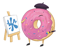 Donut Illustrations