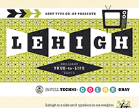 Lehigh Font In-Use Samples