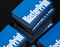 Nasferprint. Custom Type for a Printing Company