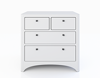 FREE 3D MODEL - CHEST OF DRAWERS by LEANDER