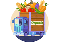 Delivery of organic food