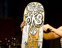 Skate Art @claudiarigby x @matdisseny #cadaverexquisit
