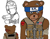 Tactical Teddy Bear AKA: Tac-Teddy