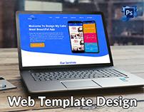 Design My Cake Website Home Page Design