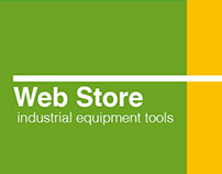 Design Web Store industrial Equipments and tools