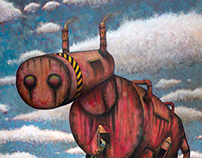 """Painting """"The Trojan Horse"""""""