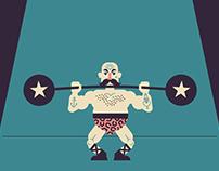 Tough Man - micro-animation