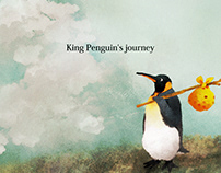 King Penguin's journey