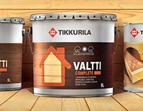 Tikkurila - Valti redesign