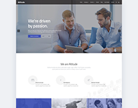 Web Design - Altitude Consulting WordPress Theme