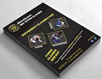 Brazilian Jiu Jitsu Classes Flyer