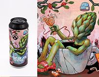 Golem Bewery X Coffeelab | Beer Label
