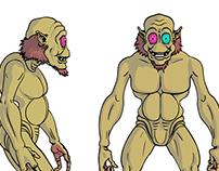 Casket - Character Design
