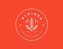 Balsam Academy - School House Badge logo design