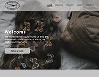 Landing Page re-design for headhunterhair website.