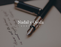 Nadal & Ojeda Website