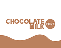 Chocolate Milk Font