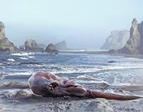 Creature sea_03 ..3Dconcept creature& Matte painting .