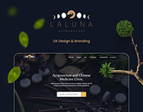 Laluna Web And Branding Project