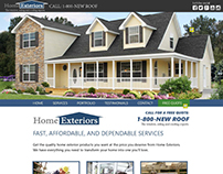 Home-exteriors re-design template