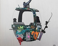 telecabines / ski Lifts / many pieces by Tefi