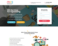 MSG Landing Page by ravisah.in