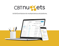 CBT Nuggets - UI/UX Contributions for multiple devices.