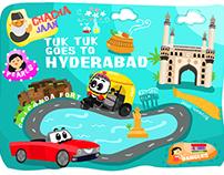 Tuk Tuk goes to Hyderabad