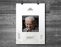 JERZY GOTTFRIED ARCHITEKT BENEFIS Poster