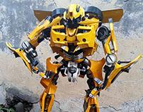 Bumblebee 3D Papermodel