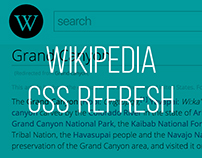 Wikipedia CSS Refresh