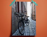 Urban cycling photoshooting tour