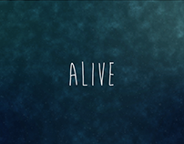 Motion graphic - Alive