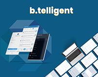 b.telligent Web design UI/UX