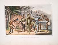 Danse de sauvages de la mission de St. José.