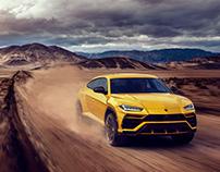 Lamborghini Urus 2019 - CGI
