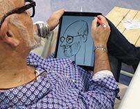 Caricaturiste digital Krys Group