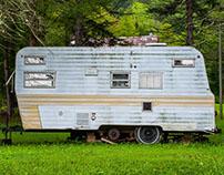 Camper Trailers in rural West Virginia