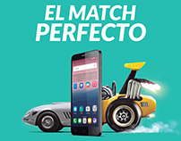"ALCATEL POP 4 "" EL MATCH PERFECTO"""