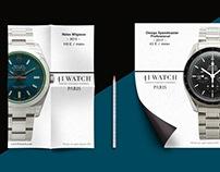 41WATCH communication print & web 2017-2018