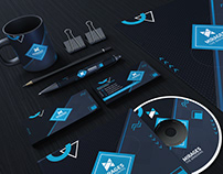 Mirages Corporate Stationary Identity