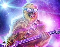 Chewbacca Heavy Metal
