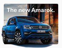 VW Amarok Microsite