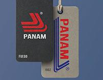 PANAM TENNIS: LOGO REDESIGN