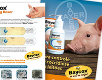 Folder Baycox. Bayer Animal Health. 2007