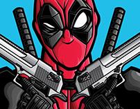Marvel Deadpool Prints